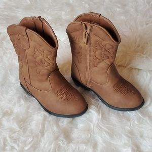Brown Cowboy Boots NWT